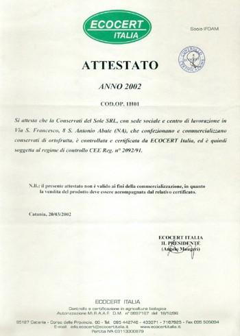 Certificazione 2
