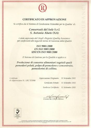 Certificazione 3