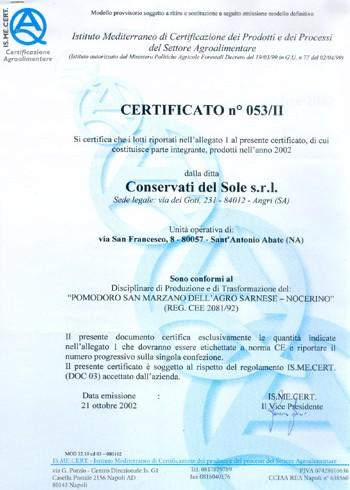 Certificato 4