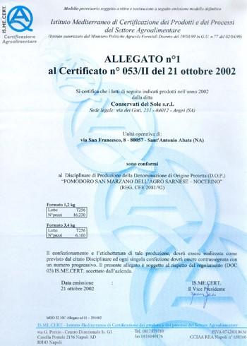 Certificazione 5